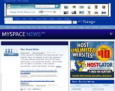 MySpace Getting Into The News Business – Users Will Determine Popularity – MySpace.com Will Serve Up Blog Results As Well