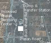Phelan Recycling Center To Be Located In Pinon Hills – Both Redemption and Non-Redemption Materials To Be Accepted