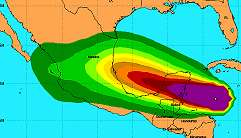 Hurricane Dean Heads Towards Gulf of Mexico – Cancun Tourists Leaving As Category 5 Storm Approaches – Belize Texas