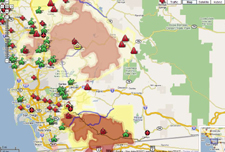 San Diego Fires Consume Hundreds Of Thousands of Acres – Witch Harris Rice and Poomacha Fires Containment Evacuation