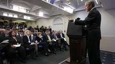 President Bush Threatens To Isolate Iran At News Conference – NIE Says Iranian Nuclear Weapons Program Ended Back In 2003