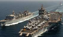 US Navy Challenged By Iranian Boats Near Straits of Hormuz But Ships Seem To Vanish