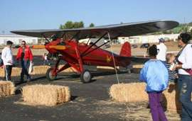 New Improved Apple Valley Airport on September 27 In High Desert Near Victorville California