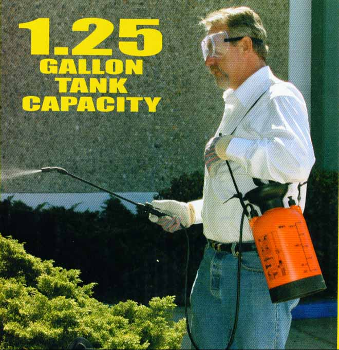 Large sprayer - How To Exterminate Scorpions and Centipedes In High Desert