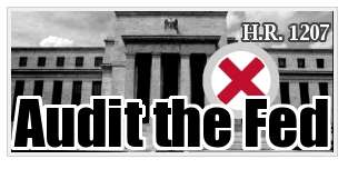 Ron Paul Wants To Audit Federal Reserve – HR1207 Would Make Fed More Transparent