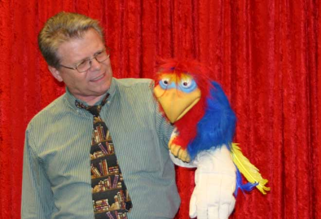 Jim Adams and his Puppet Show