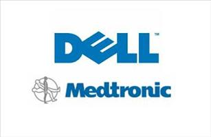 Medtronic and Dell logo
