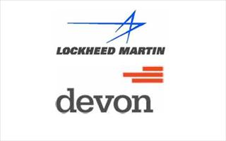 Lockheed and Devon logos