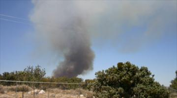 picture of pinon hills fire