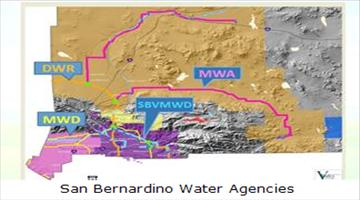 Map of water agencies