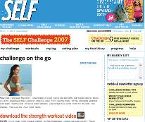 ABC's Good Morning America teams up with SELF Magazine for