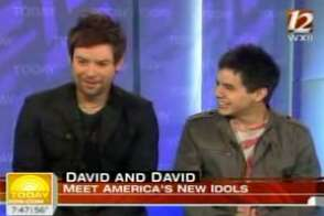 David Cook and David Archuleta perform on NBC's 'Today' Show