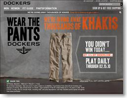 Dockers Giveaway Enter Online to Instantly Win a Free Pair of Pants