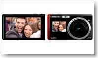 Samsung ST550 and ST500 Digital Cameras have Dual LCD Displays