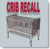 Crib Recall 2010 – Seven Manufacturers Cribs Suffocation, Entrapment and Fall Danger