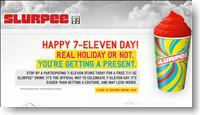 Free Slurpee at 7 Eleven Stores this Sunday and Vote for your Favorite Battle of the Bands 2010