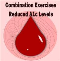 Type 2 Diabetes – Combination of Weight Training and Aerobic Exercise help Lower A1c Levels
