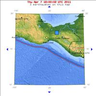Mexico shakes with a 6.5 Magnitude Earthquake today