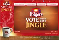 Folgers Vote The Best Folgers Jingle promotion -  Your vote could win you $10,000 in cash