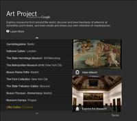 Google's Art Project – Free virtual online art museum tours from locations around the world