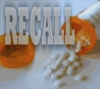 TOPOMAX recall announced for two lots prescription medication