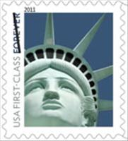 Statue of Liberty Stamp has Las Vegas Replica Featured