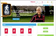Walk with Walgreens promotion earn coupons for walking 30 minutes everyday