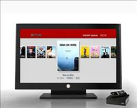 Netflix instant Queue as shown on a Roku Player - Netflix