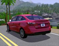 Ford Focus as seen in The Sims 3 video game - courtesy: Ford