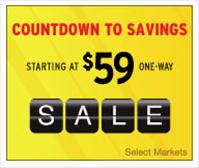 Southwest Airlines Countdown to Savings Airfare Sale July 5-14 - Southwest.com