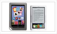 NOOK and NOOK Color side-by-side - Credit: Barnes and Noble