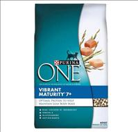 Nestlé Purina Recalls announced for Purina ONE Vibrant Maturity 7+ Dry Cat Food - credit: FDA.gov