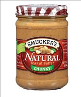Smucker's Natural Peanut Butter Chunky Product Recalled - FDA.gov