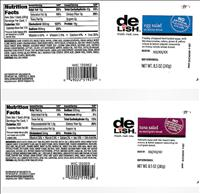 Sandwich Product Labels involved in the Recall - FDA