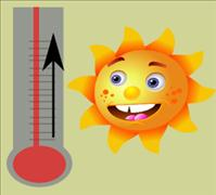 Sun and thermometer - BSN