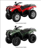 Honda ATV involved in the Recall - CPSC