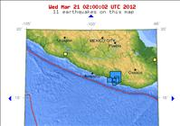 7.4 magnitude earthquake in Mexico Today - USGS
