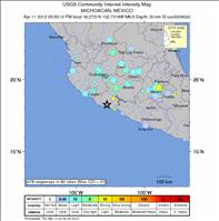Mexico Earthquake Response Map - USGS.gov