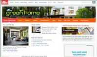 screenshot of HGTV.com Green Home Giveaway 2012 website