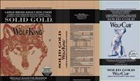 Solid Gold WolfKing and WolfCub Product Labels - FDA