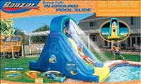 Banzai Inflatable pool water slide recall - CPSC