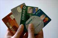 credit cards in hand - BSN