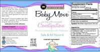 Wellements Baby Move brand Prune Juice Concentrate Label - FDA