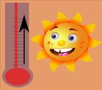 sunshine and thermometer - BSN