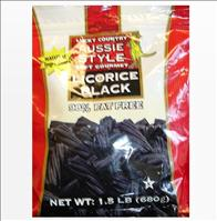 Country Aussie Style Soft Gourmet Black Licorice - FDA