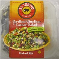 El Torito branded Grilled Chicken Caesar Salad Kits recall announced - FSIS