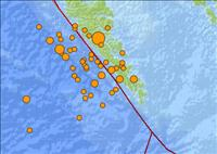 Recent Earthquake Activity in Queen Charlotte Islands Region Canada 10-28-12 - USGS