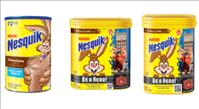 Nestlé Nesquick Chocolate Powdered Drink Mix - credit: Nestlé USA