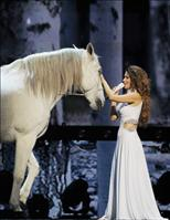 Shania Twain debuts SHANIA: STILL THE ONE at The Colosseum at Caesars Palace. (PRNewsFoto/The Colosseum at Caesars Palace)