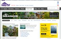 thumbnail of HGTV website